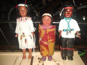 Antique native American dolls for Sale in Spokane, WA