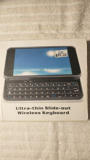 Ultra-thin Slide-out Wireless Keyboard for Sale in West Hartford, CT