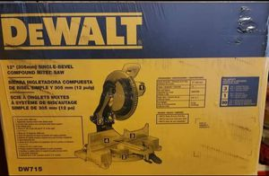 "DeWalt 12"" miter saw for Sale in Long Beach, MS"