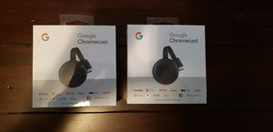 2 Chromecasts brand new! Unopened! for Sale in White Lake charter Township, MI