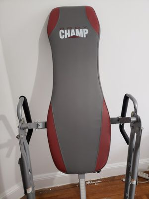 Body Champ inversion chair for Sale in San Francisco, CA