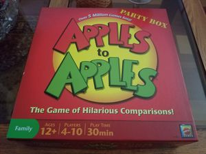 Party Box Apples to Apples Card/Board Game for Sale in Portland, OR