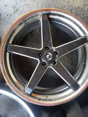 22x9 adventus rims only 3 for Sale in Pomona, CA