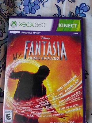 Fantasia music evolved kinect for Sale in Phoenix, AZ