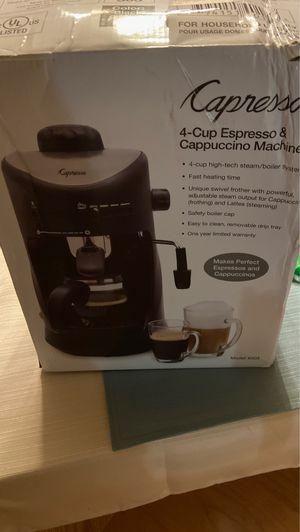 Espresso & cappuccino machine for Sale in Edgemere, MD