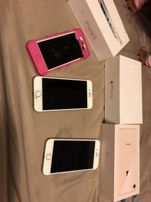 iPhone 5 iPhone 6 iPhone 7 for Sale in Sacramento, CA
