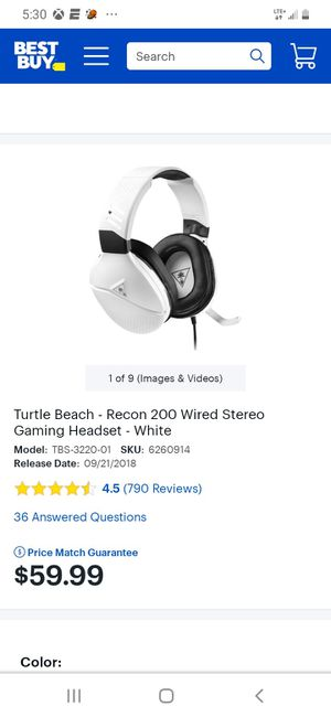 Turtle beach Gaming Headset for Sale in Moreno Valley, CA