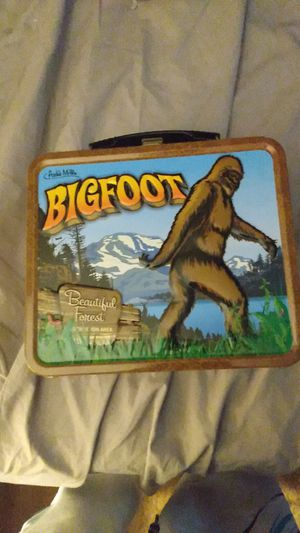 Bigfoot collector's lunch box for Sale in Terre Haute, IN