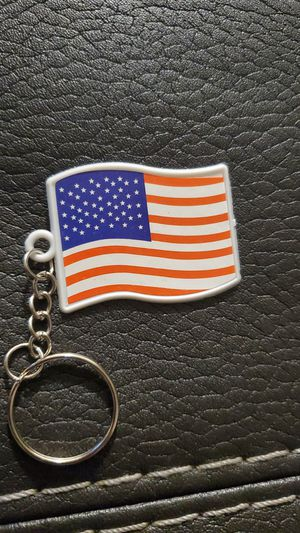 American Flag Sticker Keychain 4th July for Sale in Fresno, CA