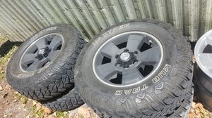 Black Tacoma rims and tires for Sale in Bartow, FL