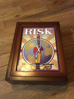Risk Board Game in Wooden Box for Sale in Portland, OR