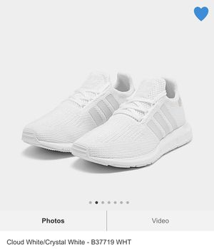 Cloud white adidas women's size 9 for Sale in Milwaukee, WI