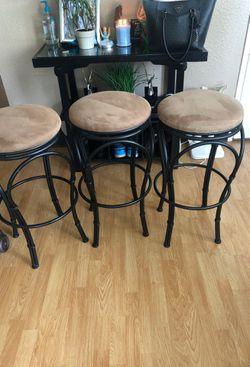 Three bar stools for Sale in Kent,  WA
