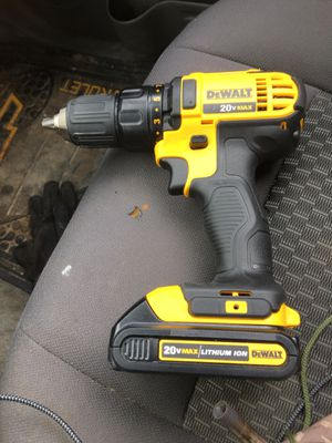 DeWalt Drill Drive 20vMax Lith Zion for Sale in DeWitt, IA