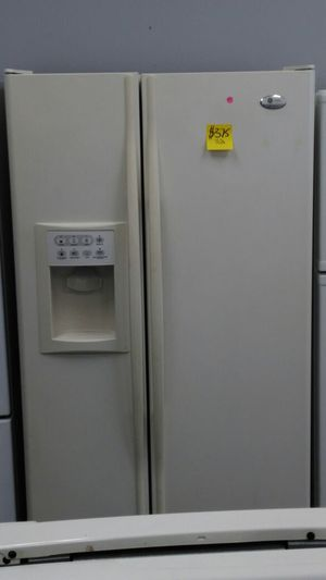 GE Profile refrigerator (off-white) for Sale in Cleveland, OH