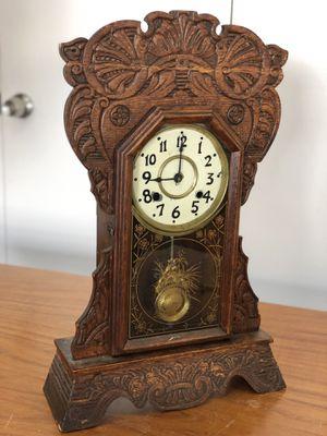 Antique Parlor Oak Grandpa Clock for Sale in Glendale, CA