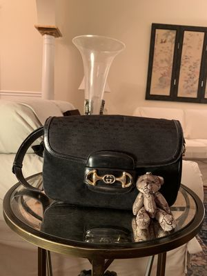 Gucci vintage black monogram shoulder bag for Sale in Ooltewah, TN
