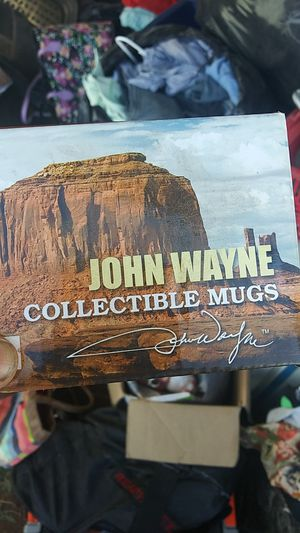 John Wayne collectible mug for Sale in Moriarty, NM