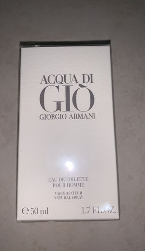 Giorgio Armani Gio man cologne 1.7 oz. reg $72. New sealed box authentic warranty from Macy's. $58 firm for Sale in Anaheim, CA