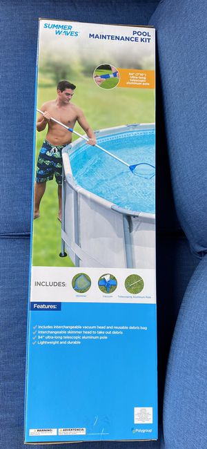 Pool Maintenance Kit - New - complete for Sale in South San Francisco, CA