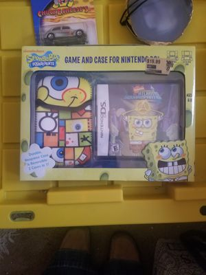 Nintendo DS sponge Bob game and case for Sale in Meridian, MS