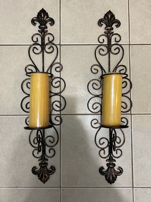 Candle holders set 2 for Sale in Tyngsborough, MA