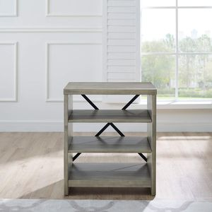 """SET OF 2 END TABLES WEATHERED GREY COLOR 16"""" W x 24"""" L x 27"""" H for Sale in Fort Worth, TX"""