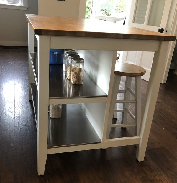 Kitchen Island Stools Ikea: Ikea Kitchen Island And Stools For Sale In Tacoma, WA
