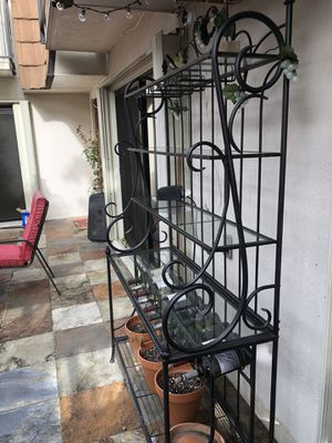 Bakers Rack - Wrought Iron for Sale in Plantation, FL