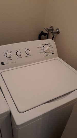 Kenmore electric washer and dryer in great condition for Sale in San Leandro, CA
