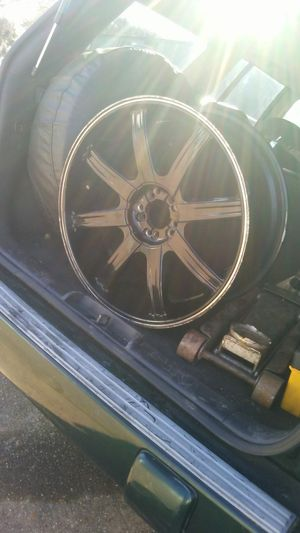 22 in Incubus rims. Universal 5 lug with no center caps.best offer for Sale in Alexandria, LA