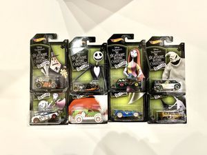 Hotwheels - Nightmare Before Christmas set for Sale in Pleasanton, CA