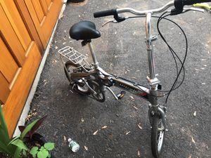 Six speed folding bicycle bike for Sale in Princeton, NJ