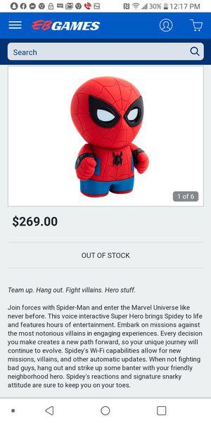 Sphero Spiderman interactive app enabled Super Hero for Sale in Shepherdsville, KY