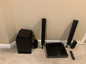 Sony subwoofer and at home stereo system Blu-ray disc player for Sale in Harrisonburg, VA