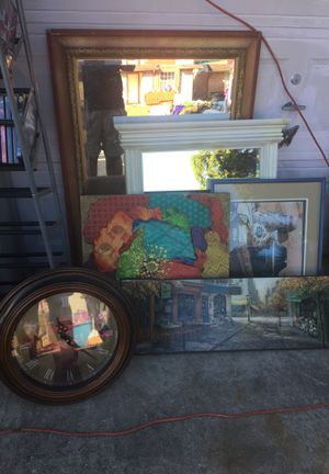 Paintings and mirrors for Sale in Houston, TX