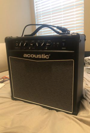 amplifier as new has use only once, I no longer use it and I want to sell it $ 100 for Sale in El Dorado, KS