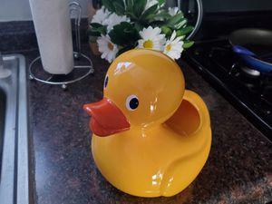 Ceramic duck vase for flower arrangement for Sale in Dundalk, MD