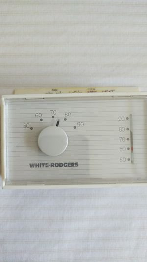 Old school White-Rodgers mercury thermostat heat and cool for Sale in St. Petersburg, FL