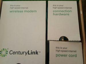 CenturyLink high speed Internet wireless modem for Sale in Salt Lake City, UT