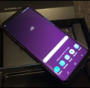 Samsung Galaxy S9 Plus, Factory Unlocked, Excellent Condition..As like New. for Sale in Springfield, VA