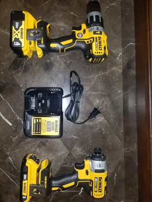 20-Volt MAX XR Lithium-Ion Cordless Brushless Drill/Impact Combo Kit (2-Tool) with (1) Battery 2Ah and (1) Battery 4Ah for Sale in Austin, TX