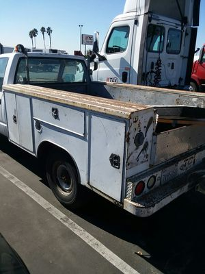 Chevy utility bed for Sale in Fontana, CA