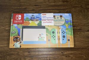 Nintendo Switch HAC-001(-01) Animal Crossing: New Horizon Special Edition - 32GB BRAND NEW UNOPENED for Sale in Friendswood, TX