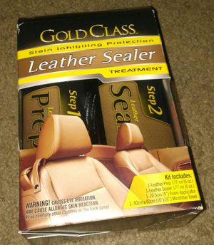 Gold Glass Leather Seat Sealer.. for Sale in Orlando, FL