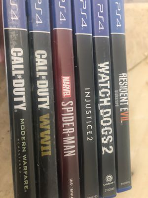 Games for ps4 for Sale in Los Angeles, CA