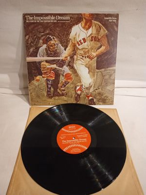 THE IMPOSSIBLE DREAM the story of the 1967 boston Red Sox vinyl record for Sale in Oceanside, CA