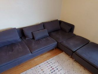4 Seat Sectional Couch + Ottoman for Sale in San Diego,  CA