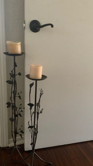 Candle holders - great for fall decor for Sale in San Diego, CA