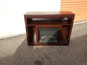 Fireplace T.V. Stand for Sale in Turlock, CA